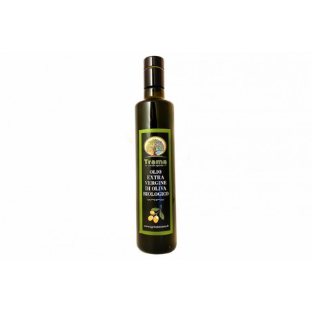 Bottiglia Lt. 0,5 Olio EVO Biologico Cilento